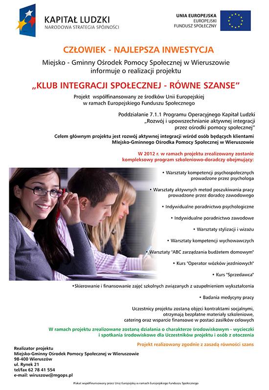 KIS 2012 - plakat